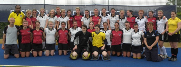 Ladies 1st XI Opening Day Team Photo