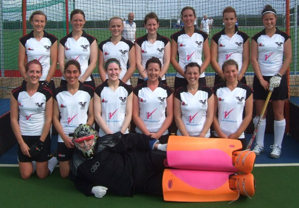 Ladies 1s in their new kit