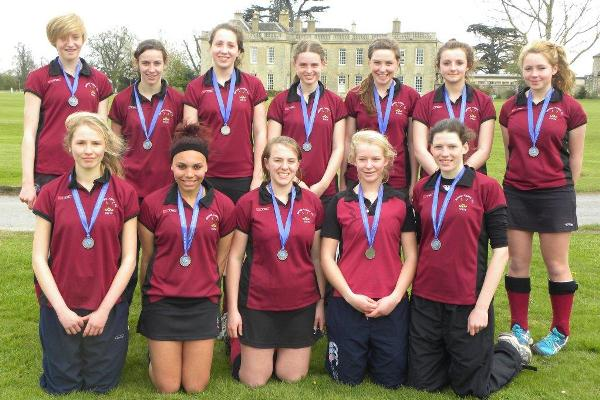 U16 girls at Cokethorpe